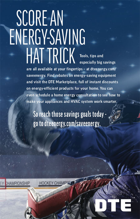 DTE Energy Creative Campaign - Score an Energy-Saving Hat Trick