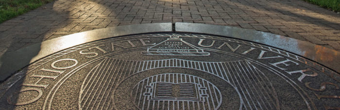 Photo by Jo McCulty of The Ohio State University Oval Seal