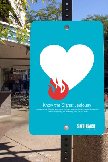Safehouse - Know the Signs: Jealousy sign